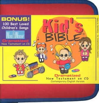 Kid's New Testament - CEV Bible Stories (CD) in Zipper Case