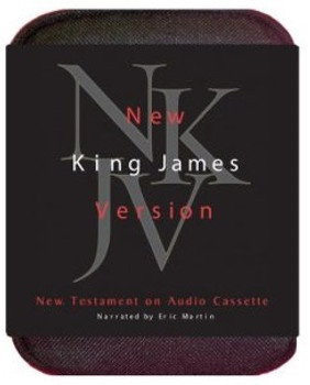 NKJV New Testament by Eric Martin (Cassette)