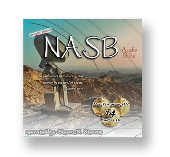 NASB New Testament Bible by Stevens (CD)