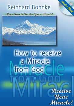 How to Receive Your Miracle From God by Reinhard Bonnke (CD)