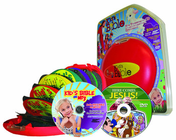 CEV Kid's Bible - Easter Edition (MP3/CD/DVD) Gift Set