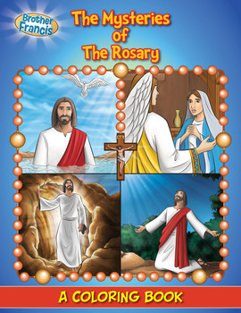 Coloring Book: The Mysteries of the Rosary