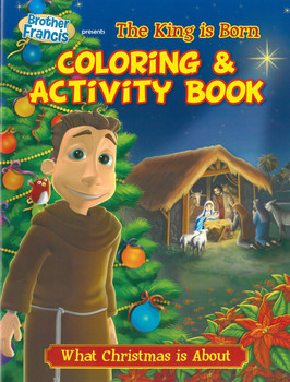 Coloring and Activity Book: The King is Born