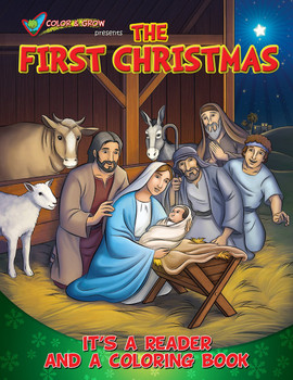 Coloring Book: The First Christmas