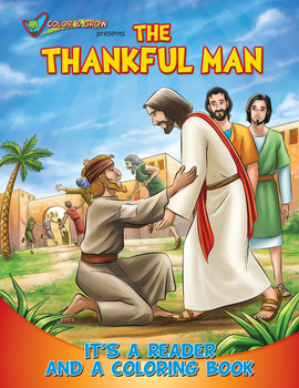 Coloring Book: The Thankful Man