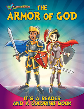 Coloring Book: The Armor of God