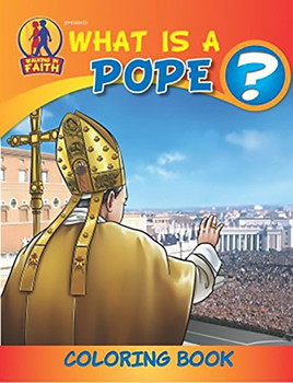 Coloring Book: What is a Pope?
