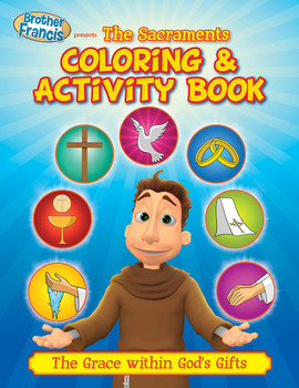 Coloring and Activity Book: The Sacraments