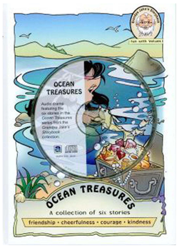 Ocean Treasures (CD, DVD, and Book) Set