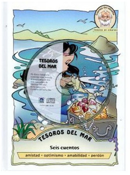Tesoros del Mar: Seis cuentos (CD, DVD, and Book)