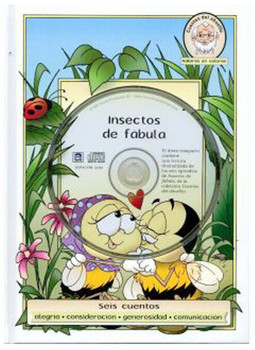 Insectos de Fabula (CD, DVD, and Book) Set