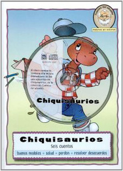 Chiquisaurios (CD, DVD, and Book) Set