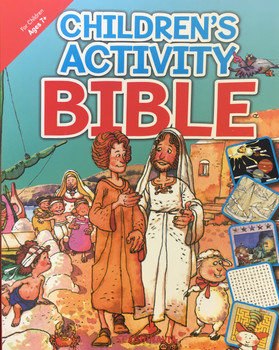 Children's Activity Bible (Bible Games in Story)