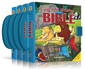One Month Handy Children's Bible - 3 Exodus to Gideon