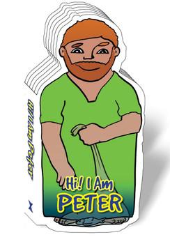 Hi! I am Peter (Bible Figure Books)