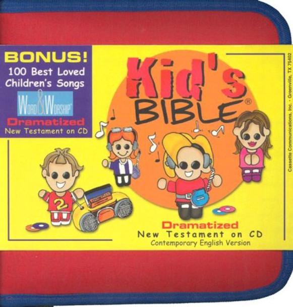 Kid's New Testament - CEV Bible Stories (CD) in Zipper Case