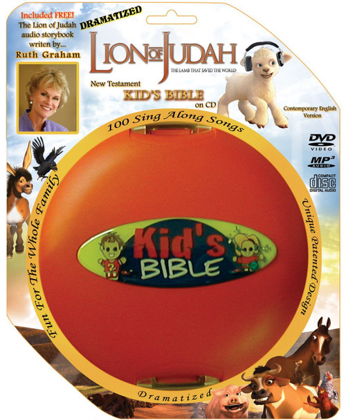 Lion of Judah Dramatized Kids Bible (CD)