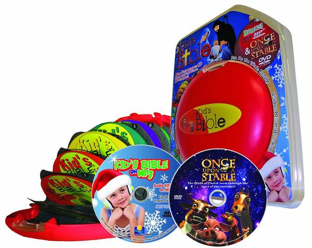 CEV Kids Bible - Christmas Edition (MP3/CD/DVD) Gift Set