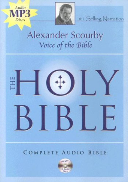 KJV Complete Bible by Alexander Scourby (MP3) (6 Disc)