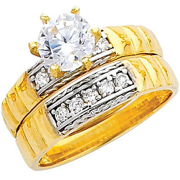 Engagement Ring / Wedding Band 14K  4.8 gr. - RG226