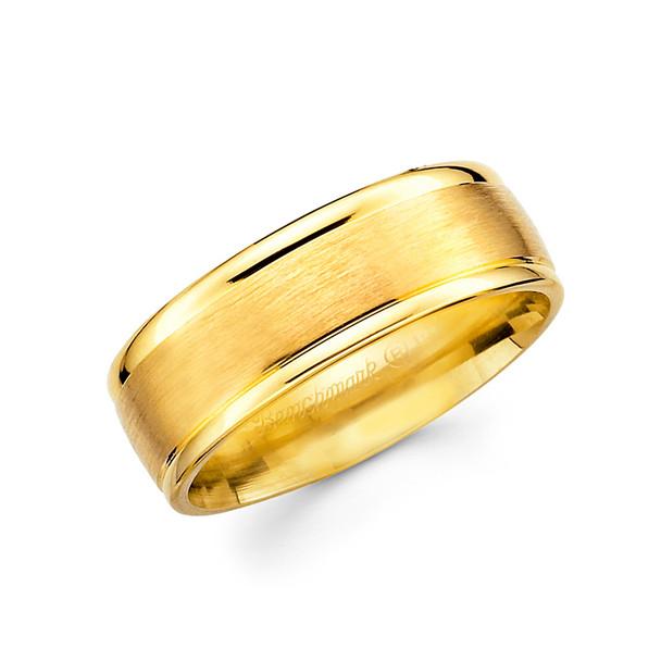White gold wedding band  - BC2-12