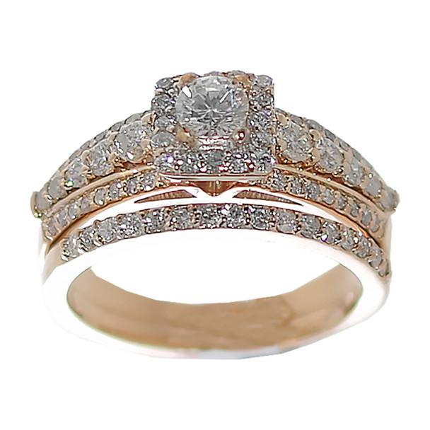 Yellow Gold Engagement Ring - 14K - ERB-611