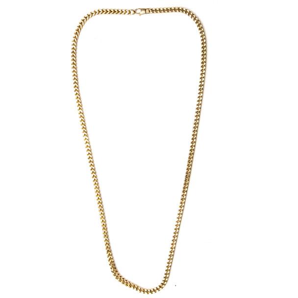 Yellow  Gold Chain - Cuban - CH201