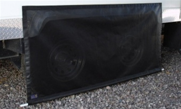 """Sun Tex 90% Tire/Fender Covers (Pair) Size #1 Up to 52"""" Wide"""
