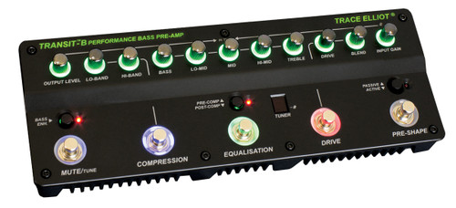 Trace Elliot Transit™ B Bass Pre-amp & Effects