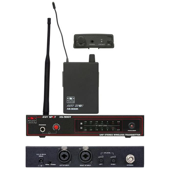Galaxy Audio AS-900 In Ear Wireless Monitors