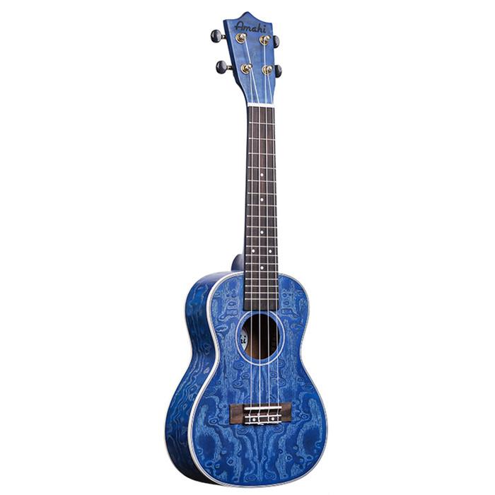 Amahi Blue Quilted Ash C-23 (Concert)