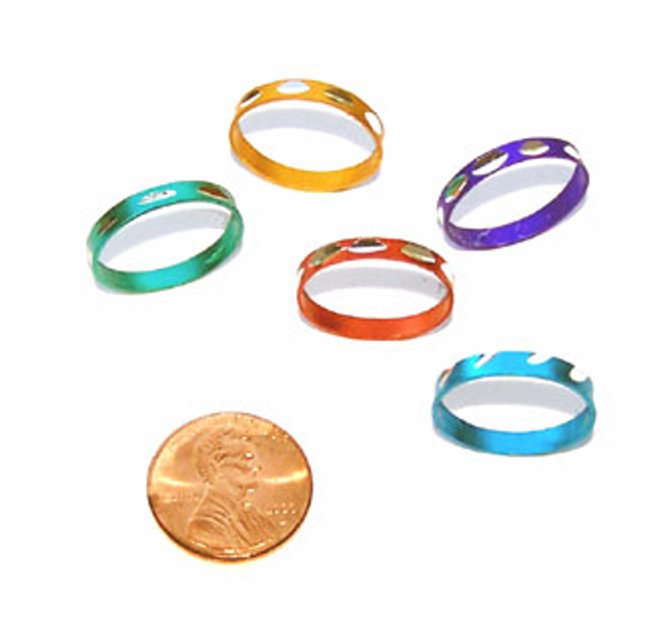 Cheap Toy Rings - Diamond Cut Toy Rings