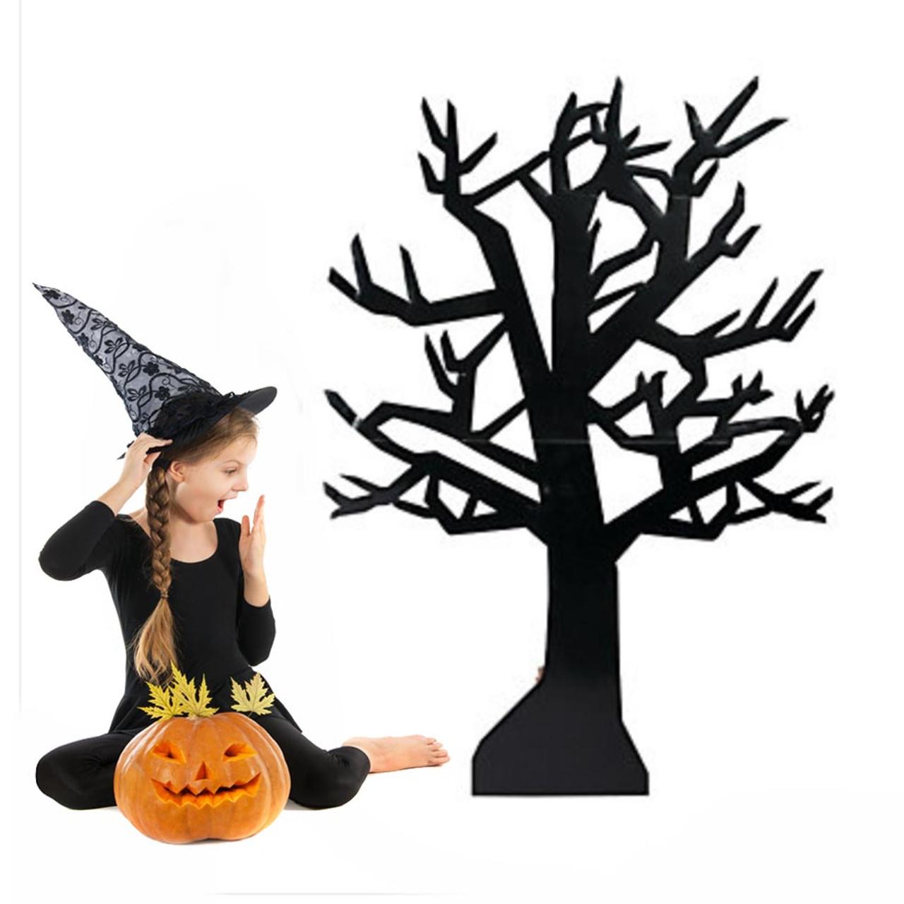 cardboard spooky tree fun unique halloween supplies