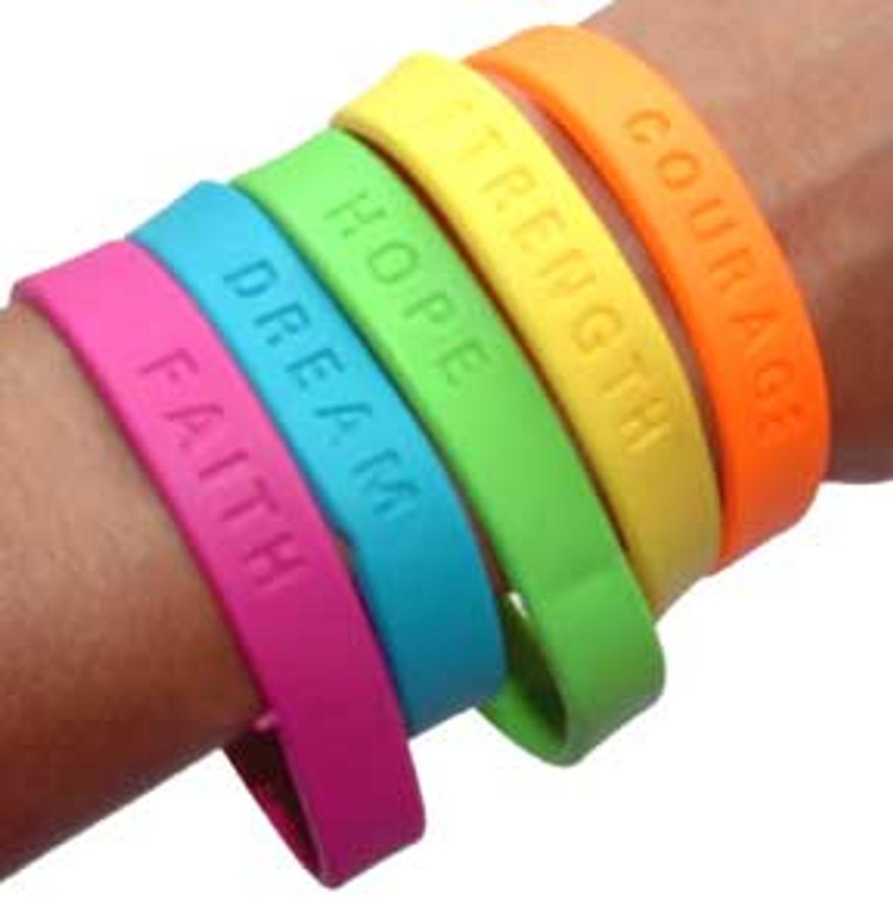 Sayings Bracelets Colorful Bracelet Prize