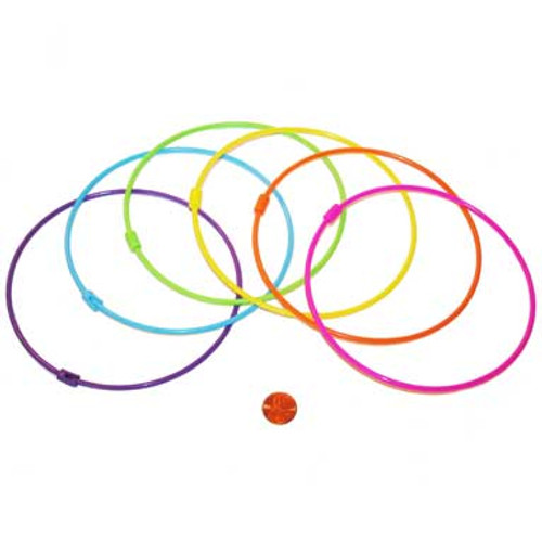 Large Plastic Rings for Games - Colorful Game Supply