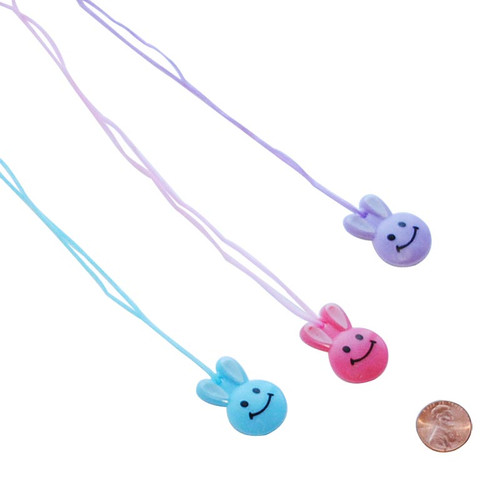 Plastic Easter Bunny Necklace Wholesale