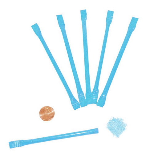 Blue Candy Filled Straws Wholesale
