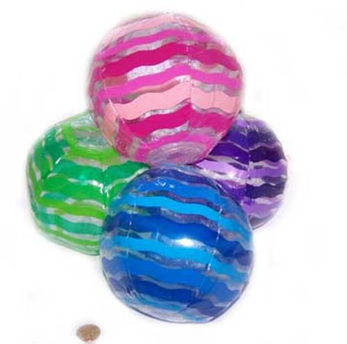 Striped Mini Beach Balls (24 total beach balls in 2 bags) 46¢ each