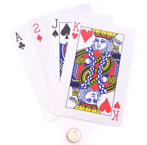 Jumbo Playing Cards (24 total card decks in 2 bags) 98¢ each
