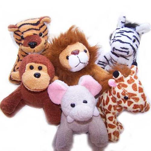 plush zoo animals fun animal carnival prize