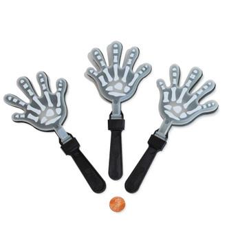 Glow In The Dark Skeleton Hand Clapper Fun Halloween Prize