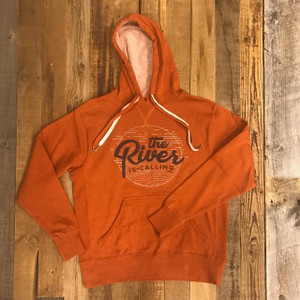 The River is Calling Hoodie - Burnt Orange