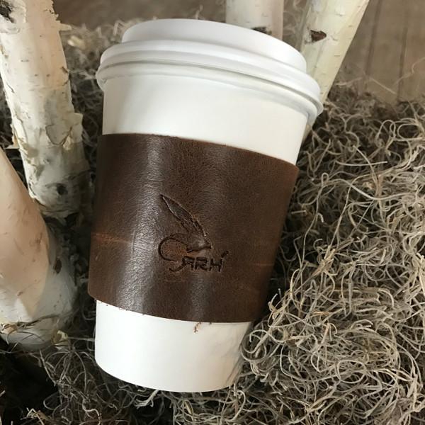 Leather Coffee Sleeve