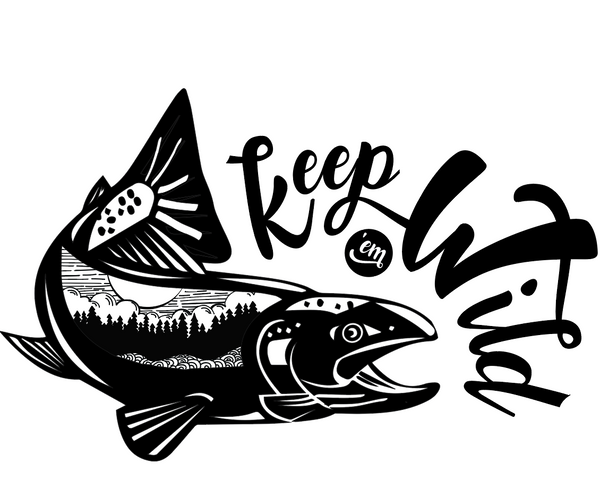 Keep 'Em Wild 2.0 Sticker