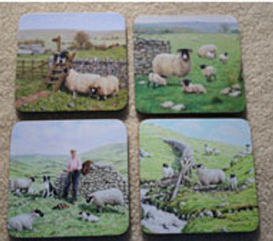 Sheep Coasters