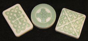 Green Tea & Cucumber Celtic Soap Set