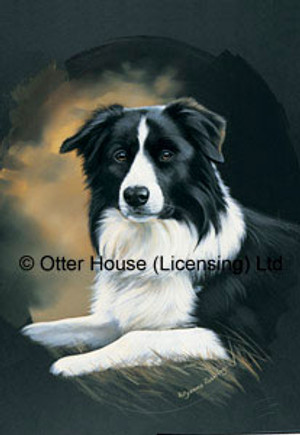Pollyanna Pickering Border Collie Flag