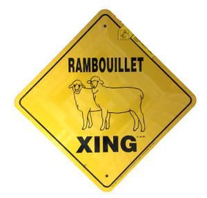 Rambouillet Xing Sign