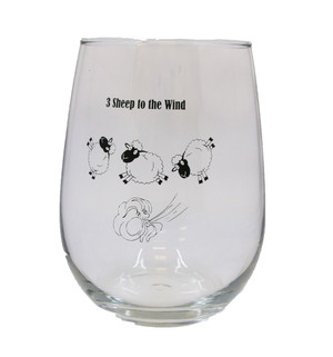 Single- 3 Sheep to the Wind - Drinking Glass