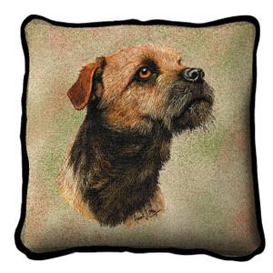 Border Terrier Pillow